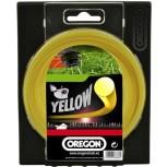 Żyłka tnąca żółta okrągła (3.5x40) - OREGON