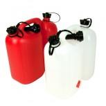 Kanister dwukomorowy OREGON 5l + 3l - biały